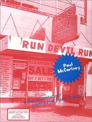 Cover of: Paul McCartney - Run Devil Run