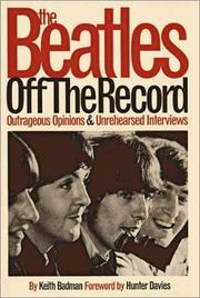 Cover of: Beatles | Keith Badman