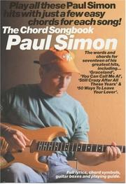 Cover of: The Chord Songbook