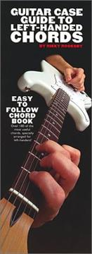 Cover of: Guitar Case Guide To Left-Handed Guitar Chords (Guitar)