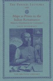 Maps as prints in the Italian Renaissance by Woodward, David