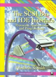 Cover of: SCSI bus and IDE interface | Schmidt, Friedhelm