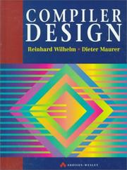 Cover of: Compiler design