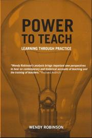 Cover of: Power to Teach | Wendy Robinson