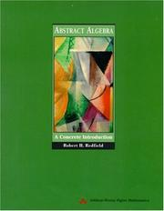 Cover of: Abstract Algebra