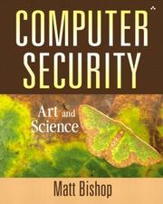 Cover of: Computer Security