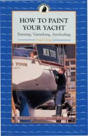 Cover of: How to Paint Your Boat (Sailmate)