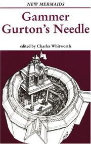 Cover of: Gammer Gurton's needle
