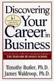 Cover of: Discovering your career in business