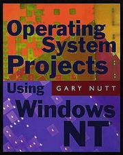 Cover of: Operating System Projects for Windows NT