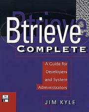 Cover of: Btrieve complete