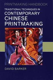 Cover of: Traditional Techniques in Contemporary Chinese Printmaking