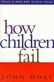 Cover of: How children fail
