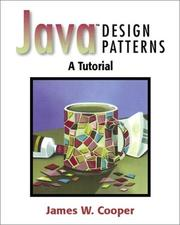 Cover of: Java design patterns