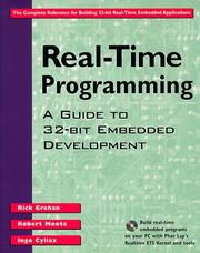Cover of: Real-time programming | Rick Grehan
