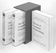 Cover of: Art of Computer Programming, The, Volumes 1-3 Boxed Set (2nd Edition) (The Art of Computer Programming Series)