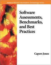 Cover of: Software Assessments, Benchmarks, and Best Practices