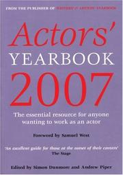 Cover of: Actors