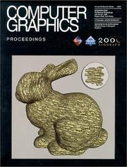 Cover of: SIGGRAPH 2000 Conference Proceedings