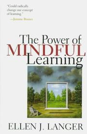 Cover of: The power of mindful learning
