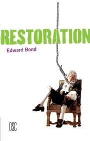 Cover of: Restoration (Methuen Drama)