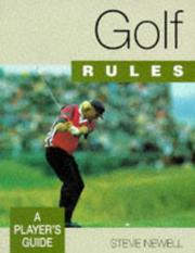 Cover of: Golf rules