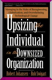 Cover of: Upsizing The Individual In The Downsized Corporation