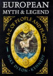 Cover of: European myth & legend