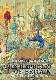 Cover of: The republic of Britain, 1760-2000