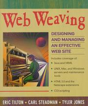 Cover of: Web Weaving | Eric Tilton