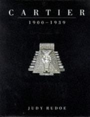 Cover of: Cartier 1900-1939