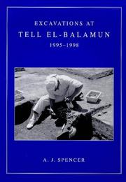 Cover of: Excavations at Tell El-Balamun, 1995-1998