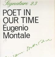 Cover of: Poet in Our Time (Signature)