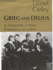 Cover of: Grieg and Delius