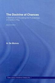 Cover of: Doctrine of Changes | A. De Moivre
