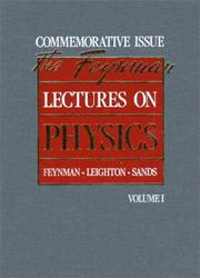 Cover of: Lectures on physics by Richard Phillips Feynman