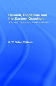 Cover of: Disraeli, Gladstone and the Eastern Question