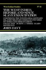 Cover of: The West Indies, before and since slave emancipation