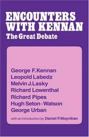 Cover of: Encounters with Kennan