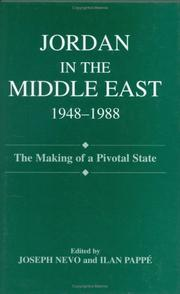 Cover of: Jordan in the Middle East, 1948-1988