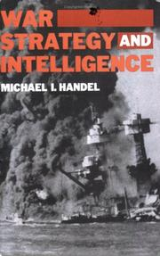 Cover of: War, strategy, and intelligence