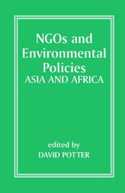 Cover of: NGOs and Environmental Policies