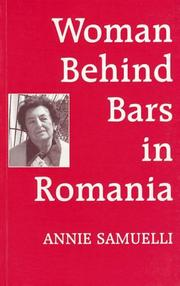 Cover of: Woman behind bars in Romania