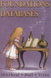 Cover of: Foundations of databases