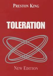 Cover of: Toleration (Friendship) | Professor King