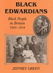 Cover of: Black Edwardians by Jeffrey P. Green