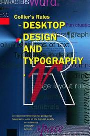 Cover of: Rules for Desktop Design