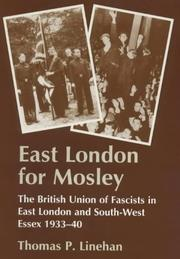 Cover of: East London for Mosley