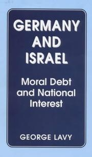 Cover of: Germany and Israel