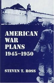 Cover of: American war plans, 1945-1950
